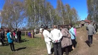 9 мая 2015 г. - Сомовские жители  открывают новый памятник погибшим участникам войны