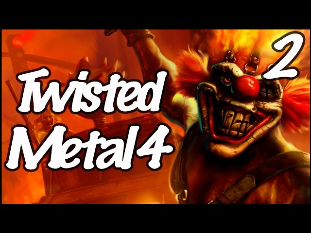 Twisted Metal 4 - Clássico Ps1 - Neon City
