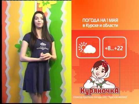 СТС-Курск. Прогноз погоды с Екатериной Малыхиной
