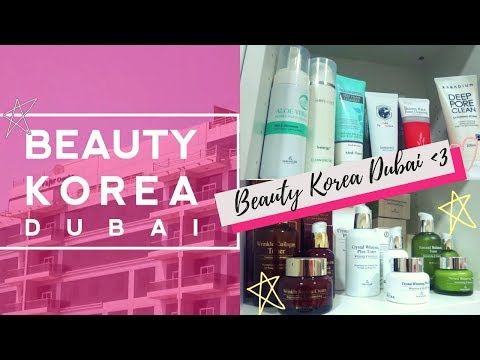 Visiting Beauty Korea Dubai's Office 💖 + doing my makeup lol | #9