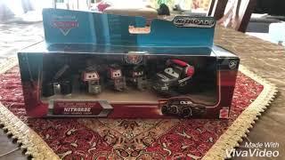 Disney Pixar Cars Diecast Team Nitroade