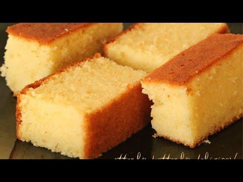 The Best Butter Cake | Butter Sponge Cake | Sponge Cake