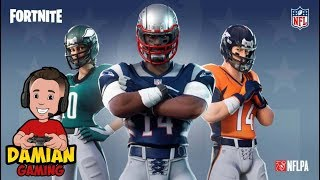 FOOTBALL SKINS | FORTNITE KID GAMER | DAMIAN GAMING