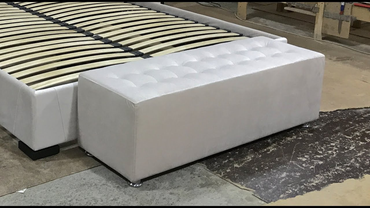 How to make a diy bed bench for bedroom