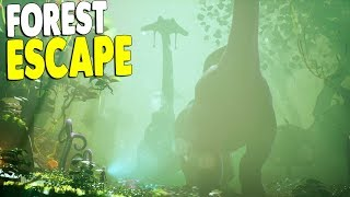 ESCAPING Enemy Patrols in Jungle Forest Misison | Planet Alpha Gameplay