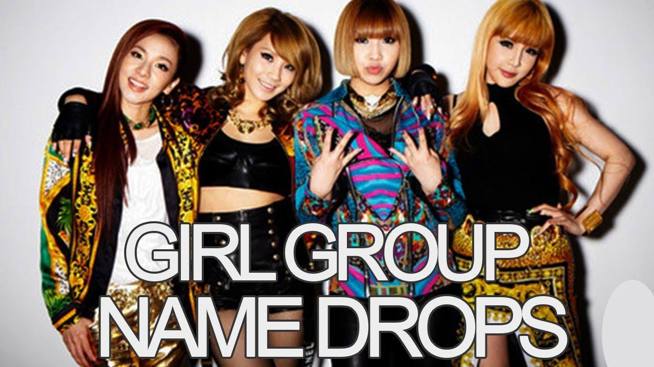 KPOP GIRL GROUPS: Name Drops