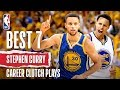 Stephen Curry's Best 7 Career Clutch Plays