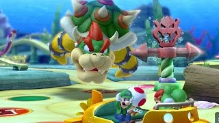 Mario Party 10 - Whimsical Waters (2 Player Bowser Party)