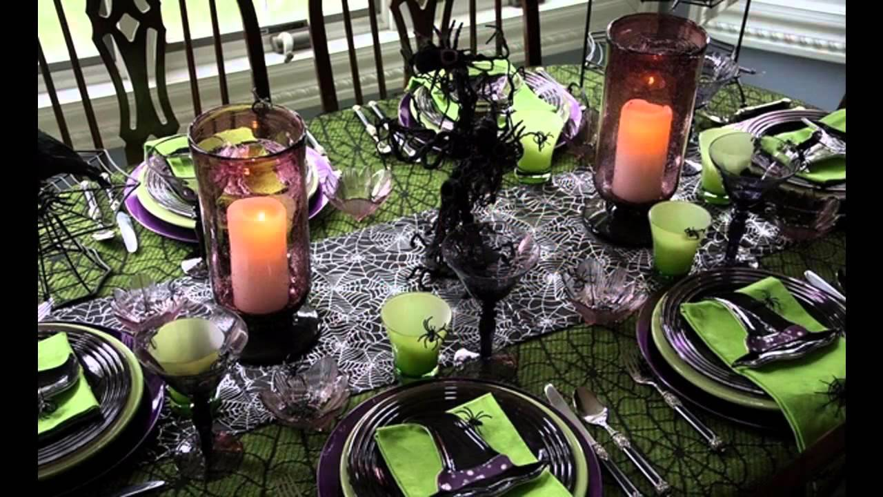 Best Halloween Table Decorating Ideas YouTube - Best halloween table decoration ideas