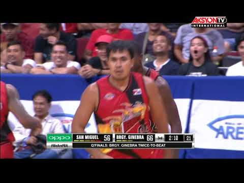 PBA Governors' Cup 2017 Highlights: Ginebra vs San Miguel Sept 27, 2017