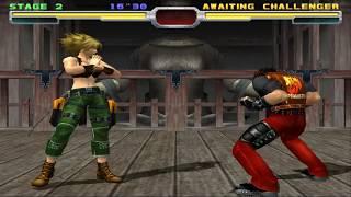 Bloody Roar 3 Marvel(Shina) Gameplay on PCSX2 v1.5.0  [1080p 60FPS]