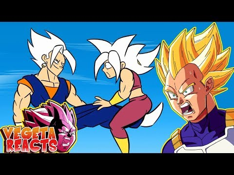 Cover Lagu Vegeta Reacts To VEGITO VS KEFLA, Dragon Ball Parody STAFABAND