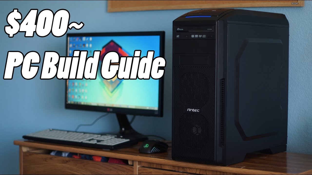 budget college gaming pt 2 best 500 pc build march 2015 youtube