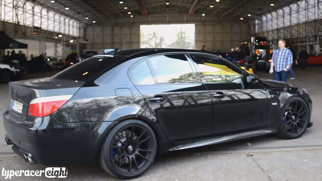 Bmw m5 58l dinan stroker black beast going crazy youtube sciox Images