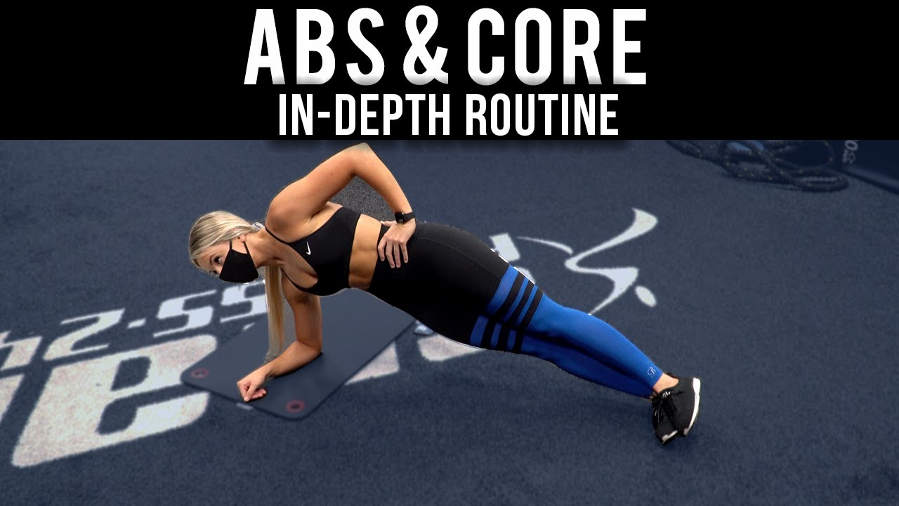 TOTAL ABS & CORE Workout | Target your entire mid-section with this routine!