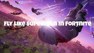New Superman Glitch In Fortnite Season X