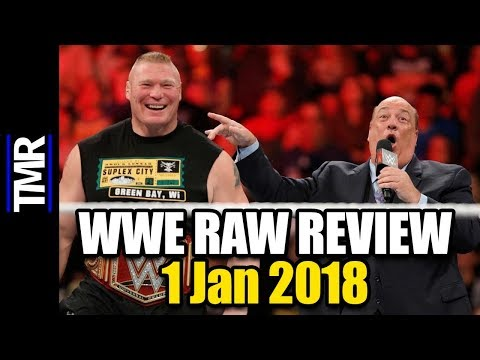 WWE RAW Review (1 January 2018)