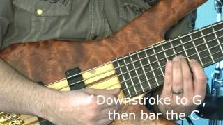 Neil Bertrand - How to Bass Sweep - Bass Lesson