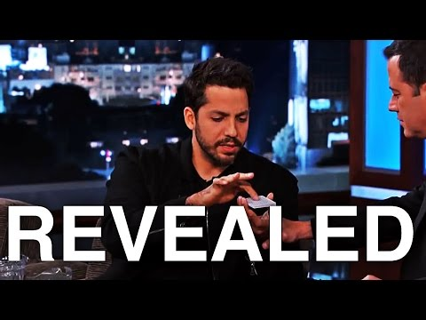 David Blaine's Insane Card Trick Revealed
