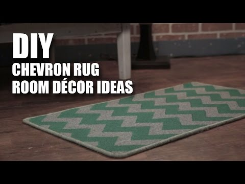 Mad Stuff With Rob | DIY Chevron Rug | Room Decor Ideas