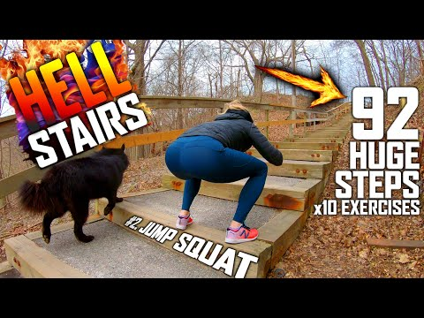 The HELL Stair Workout | Try it!