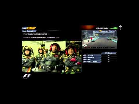 Kimi Raikkonen full radio conversation Abu Dhabi GP 2012