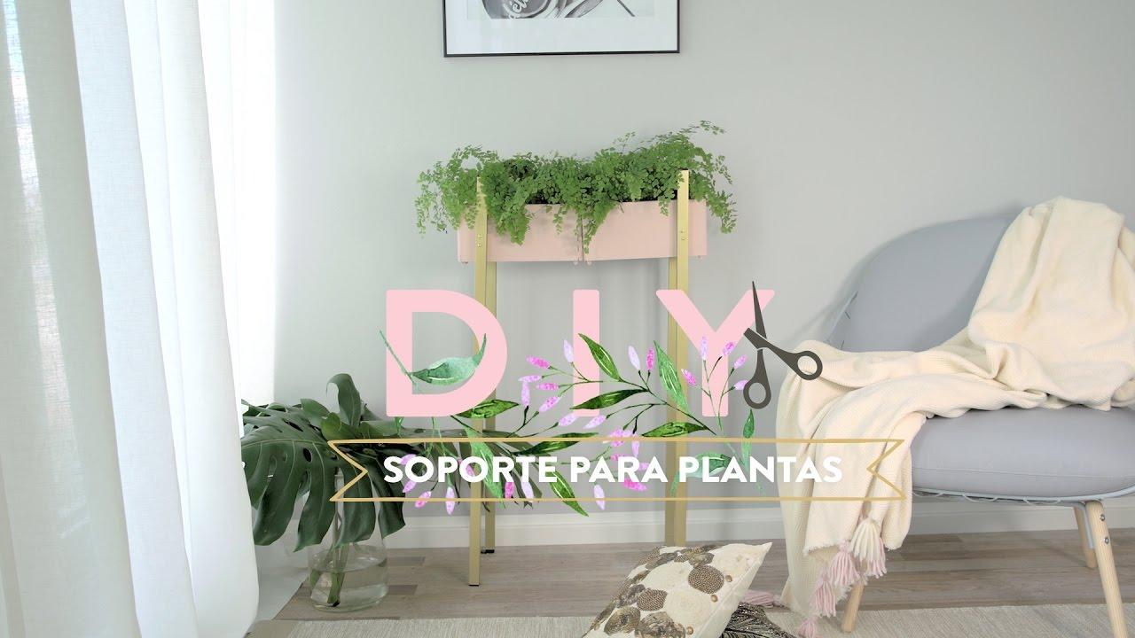 Cómo Fabricar Un Soporte Para Plantas Diy Westwing Youtube