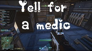 Planetside 2- Yell for a medic
