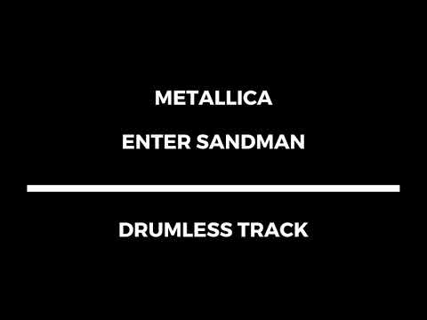 Metallica - Enter Sandman (drumless)