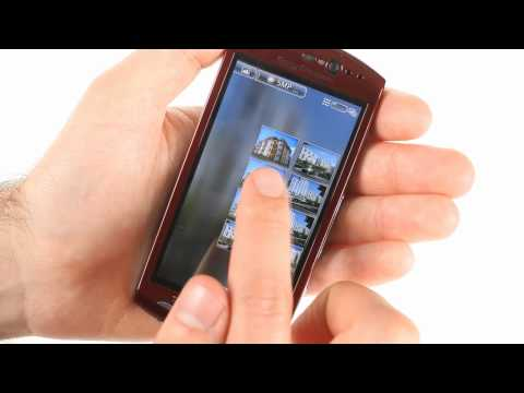 Sony Ericsson Xperia neo V user interface demo