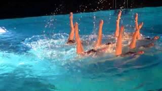 Weihnachts Wassershow Limmat-Nixen mit Intimates - mehr Frau
