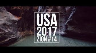 Matkailuautolla Yhdysvalloissa 2017 // ZION National Park - 14. Jakso