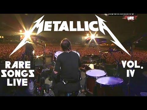 10 Rare Metallica Songs Played LIVE - Vol. 4