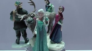 Frozen Toddlers Doll Queen Elsa Princess Anna Kristoff Sven Olaf Play Set холодное сердце