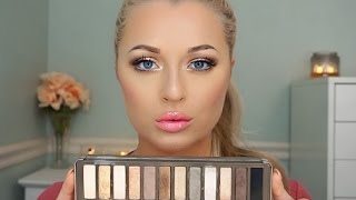 Urban Decay Naked 2 Palette | Bronzey Gold Tutorial