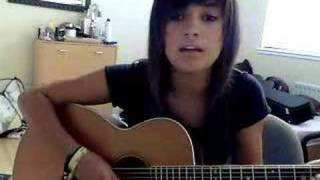 Because of you acoustic cover