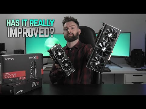 XFX 5700 XT THICC III Ultra Review (vs THICC II)