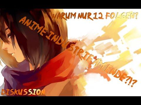 Warum Attack on Titan S2 nur 12 Folgen hat!/Dunkele Fakten über die Anime Industrie
