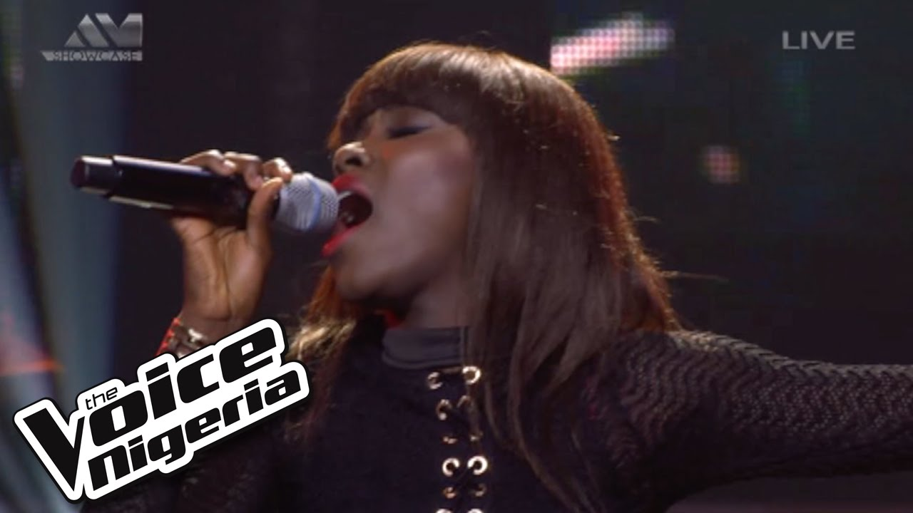 "Precious Sings ""Girl On Fire"" / Live Show / The Voice"