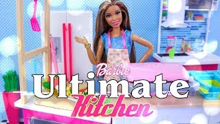 Unbox Daily:  Barbie ULTIMATE Kitchen - Barbie Dough | Accessories | Barbie Doll & More