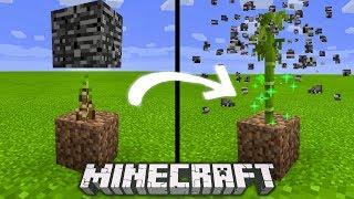 Minecraft - BAMBOO CAN BREAK ANY BLOCK! (Minecraft Bedrock Edition)