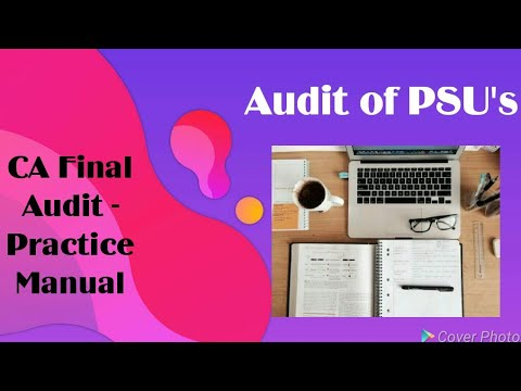 Chapter 18 - Audit of Public Sector Undertakings (Practice Manual)