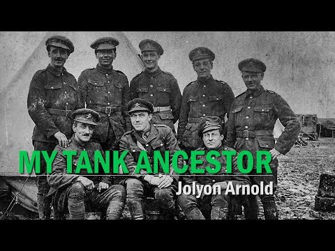 My Tank Ancestor: Jolyon Arnold | The Tank Museum