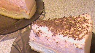 Диетический муссовый торт.  Диета Дюкана.