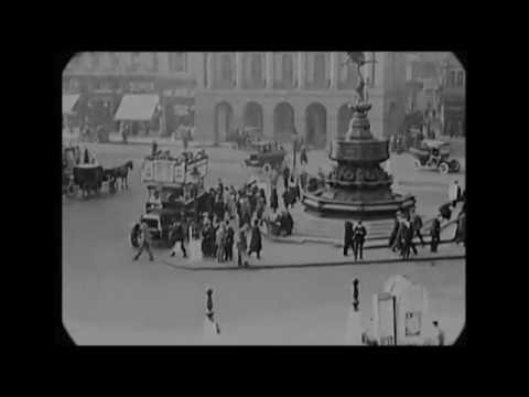 Sep 26, 1917 - A Trip Through The Streets of London (speed corrected w/ added sound)