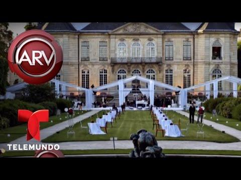 Una latina se destaca en Europa por elaborar bodas extravagantes | Al Rojo Vivo | Telemundo