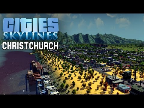 Hoodless Builds - Cities Skylines #9 Christchurch