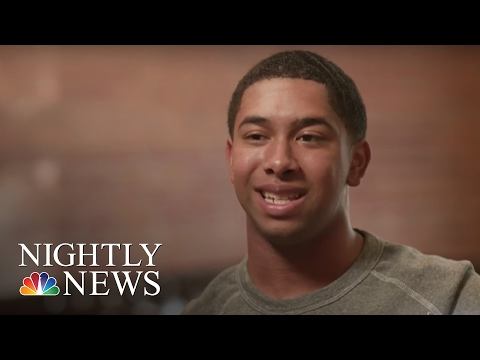 Poet Leaves Notes On Windshields, Inspiring Others, One Line At A Time | NBC Nightly News