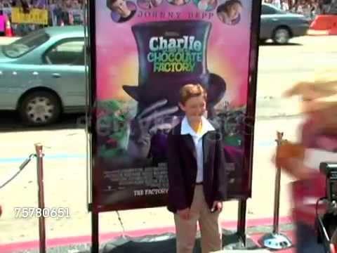 Jordan Fry arrival at Charlie and the Chocolate Factory LA premiere