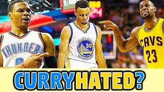 Is Steph Curry HATED by NBA Players? (LeBron, Westbrook, Chris Paul)